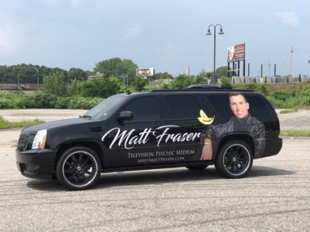 Matthew Fraser Vehicle Wrap Drivers 2017