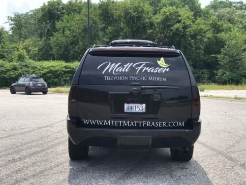 Matthew Fraser Vehicle Wrap Rear 2017
