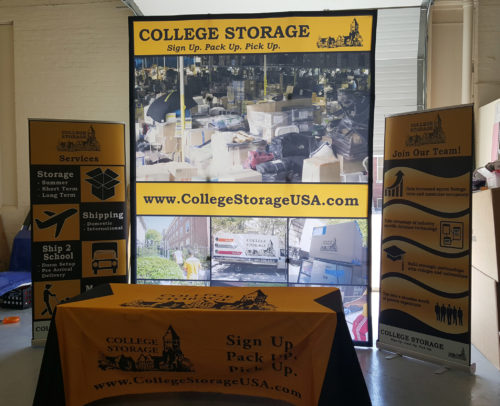 College Storage Trade Show Display 02