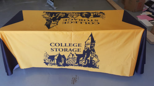 College Storage Trade Show Display 03