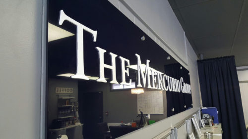 Mercurio Group Interior Sign 01