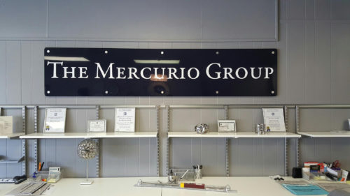 Mercurio Group Interior Sign 02