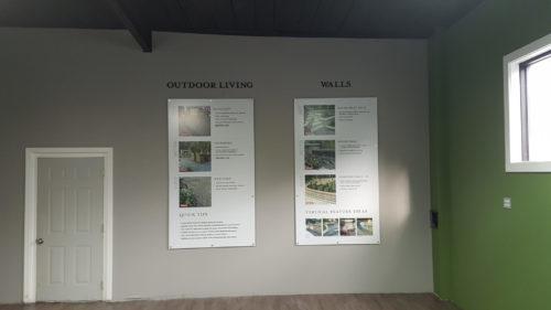 Unilock Show Room Signs 03